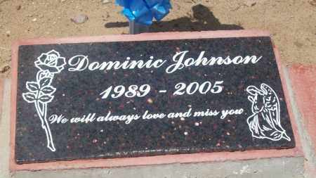 JOHNSON, DOMINIC - Socorro County, New Mexico | DOMINIC JOHNSON - New Mexico Gravestone Photos
