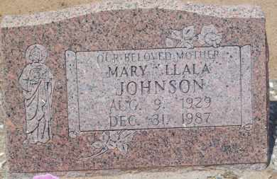 JOHNSON, MARY LLALA - Socorro County, New Mexico | MARY LLALA JOHNSON - New Mexico Gravestone Photos