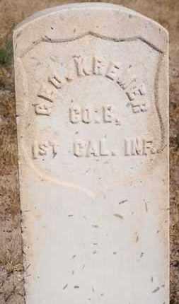 KREMER, GEORGE - Socorro County, New Mexico   GEORGE KREMER - New Mexico Gravestone Photos