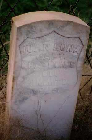 LUNA, JUAN - Socorro County, New Mexico   JUAN LUNA - New Mexico Gravestone Photos