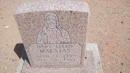 MAESTAS, MARY ELLEN - Socorro County, New Mexico | MARY ELLEN MAESTAS - New Mexico Gravestone Photos