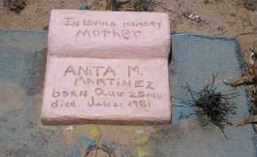 MARTINEZ, ANITA M. - Socorro County, New Mexico | ANITA M. MARTINEZ - New Mexico Gravestone Photos