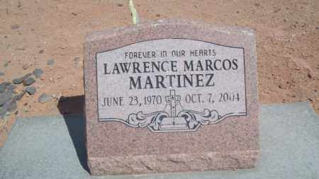 MARTINEZ, LAWRENCE MARCOS - Socorro County, New Mexico | LAWRENCE MARCOS MARTINEZ - New Mexico Gravestone Photos