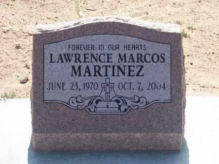 MARTINEZ, LAWRENCE MARCOS - Socorro County, New Mexico | LAWRENCE MARCOS MARTINEZ - New Mexico Gravestone Photos
