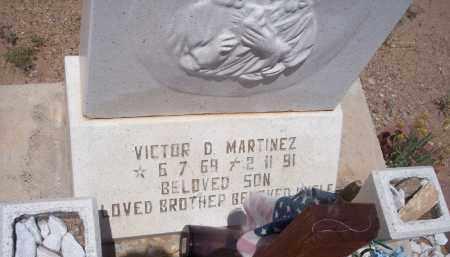 MARTINEZ, VICTOR D. - Socorro County, New Mexico | VICTOR D. MARTINEZ - New Mexico Gravestone Photos