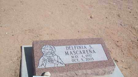 MASCARENA, DELFINIA S. - Socorro County, New Mexico | DELFINIA S. MASCARENA - New Mexico Gravestone Photos