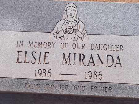 MIRANDA, ELSIE - Socorro County, New Mexico | ELSIE MIRANDA - New Mexico Gravestone Photos