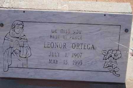 ORTEGA, LEONOR - Socorro County, New Mexico | LEONOR ORTEGA - New Mexico Gravestone Photos