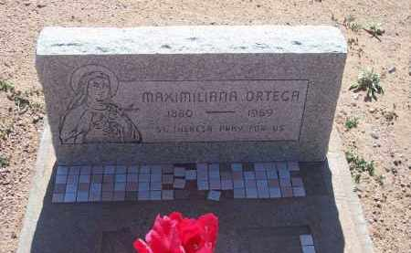 ORTEGA, MAXIMILIANA - Socorro County, New Mexico | MAXIMILIANA ORTEGA - New Mexico Gravestone Photos