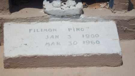 PINO, FILIMON - Socorro County, New Mexico | FILIMON PINO - New Mexico Gravestone Photos