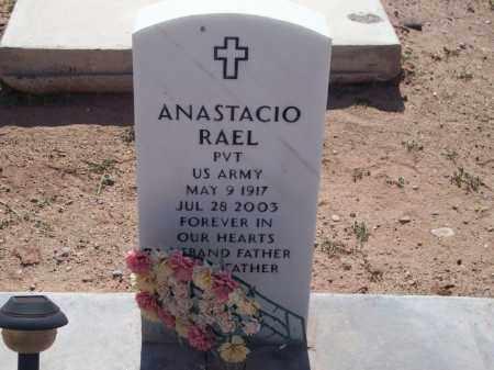 RAEL, ANASTACIO - Socorro County, New Mexico   ANASTACIO RAEL - New Mexico Gravestone Photos