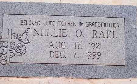 RAEL, NELLIE O. - Socorro County, New Mexico | NELLIE O. RAEL - New Mexico Gravestone Photos
