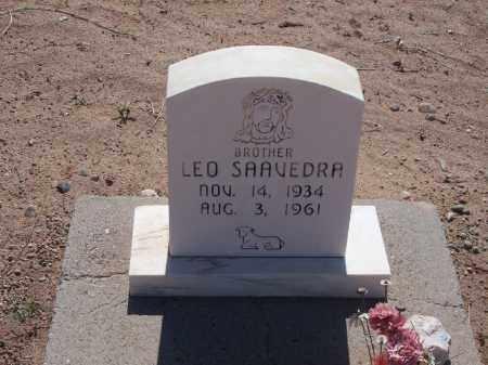 SAAVEDRA, LEO - Socorro County, New Mexico   LEO SAAVEDRA - New Mexico Gravestone Photos