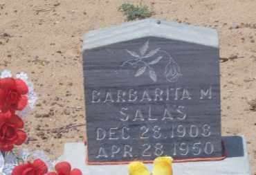 SALAS, BARBARITA M. - Socorro County, New Mexico | BARBARITA M. SALAS - New Mexico Gravestone Photos