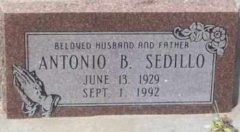 SEDILLO, ANTONIO B. - Socorro County, New Mexico | ANTONIO B. SEDILLO - New Mexico Gravestone Photos