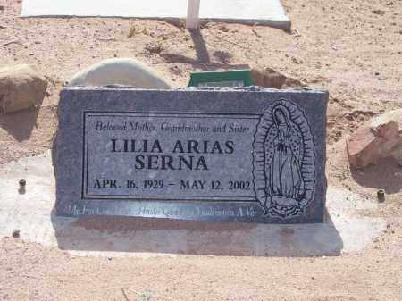 SERNA, LILIA ARIAS - Socorro County, New Mexico | LILIA ARIAS SERNA - New Mexico Gravestone Photos