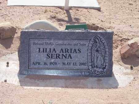 SERNA, LILIA ARIAS - Socorro County, New Mexico | LILIA ARIAS SERNA - New Mexico Gravestone Photos
