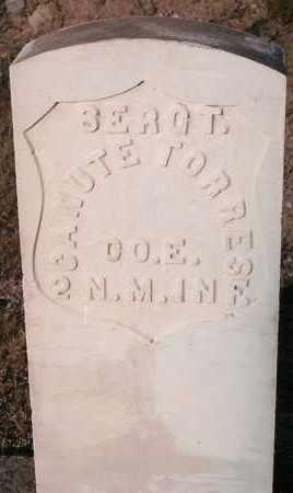 TORRES, CANUTE - Socorro County, New Mexico   CANUTE TORRES - New Mexico Gravestone Photos