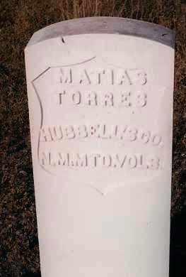 TORRES, MATIAS - Socorro County, New Mexico | MATIAS TORRES - New Mexico Gravestone Photos
