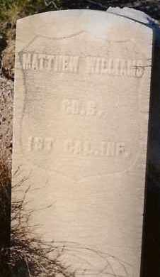 WILLIAMS, MATTHEW - Socorro County, New Mexico | MATTHEW WILLIAMS - New Mexico Gravestone Photos