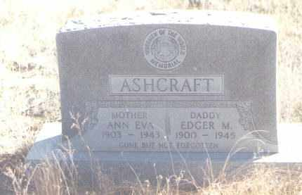 ASHCRAFT, EDGAR M. - Torrance County, New Mexico | EDGAR M. ASHCRAFT - New Mexico Gravestone Photos