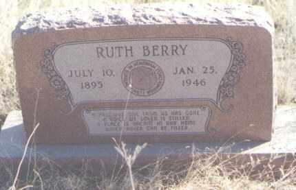 BERRY, RUTH - Torrance County, New Mexico   RUTH BERRY - New Mexico Gravestone Photos