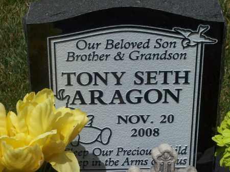ARAGON, TONY SETH - Valencia County, New Mexico | TONY SETH ARAGON - New Mexico Gravestone Photos