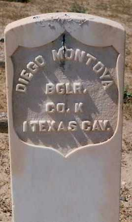 MONTOYA, DIEGO - Valencia County, New Mexico | DIEGO MONTOYA - New Mexico Gravestone Photos