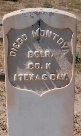 MONTOYA, DIEGO - Valencia County, New Mexico | DIEGO MONTOYA - New Mexico Gravestone Photos