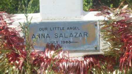 SALAZAR, ANNA - Valencia County, New Mexico | ANNA SALAZAR - New Mexico Gravestone Photos
